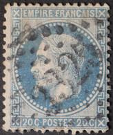 29A (cote 10 €) Planchage 150D1 3ème état, Obl GC 1325 Donnemarie-en-Montois (73 Seine & Marne ) Ind 4 - 1849-1876: Klassik