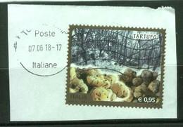 ITALIA - Tartufo 2015 Su Frammento - 2011-...: Used