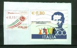 ITALIA - Don Bosco 2015 Su Frammento - 2011-...: Used