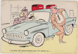BELLUS  Ed Pulcinella  - Humour Voiture - CPM 10,5x15 BE Neuve - Altre Illustrazioni