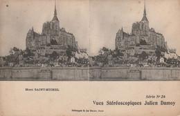 50 - MONT SAINT MICHEL -  Vues Stéréoscopiques Julien Damoy - Cartoline Stereoscopiche
