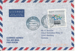 Brazil Air Mail Cover Sent To Germany 7-3-1997 Single Franked - Airmail