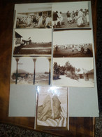 ETIOPIA -LEGAZIONE INGLESE DA MENELIK II - INIZI DEL 900 PRIMA DELLA GUERRA COLONIALE - 7 FOTO ORIGINALI -8,5X11,5 CM- - War, Military