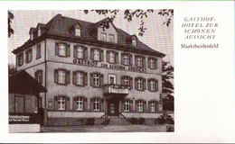 !  Ansichtskarte Bayern Marktheidenfeld, Gasthof - Altri
