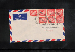 New Zealand 1956 Interesting Airmail Letter - Briefe U. Dokumente