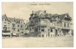 Belgien Duinbergen Groupe De Villas Feldpost 1915 Obermatrose Brügge Marine Div. - Knokke