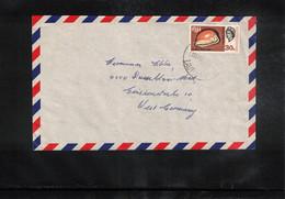 Fiji 1989 Interesting Airmail Letter - Fiji (1970-...)