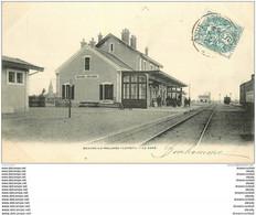 45 BEAUNE-LA-ROLANDE. La Gare 1904 - Beaune-la-Rolande