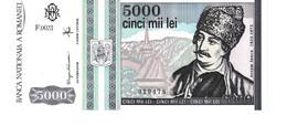 Romania P.104 5000 Lei 1993 Unc - Romania
