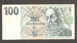 Rep. Ceca - Banconota Circolata Da 100 Corone P-18b - 1997 #19 - Tschechien