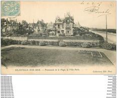 14 DEAUVILLE. La Villa Perla 1905 - Deauville