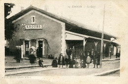 Algérie Kroubs   La Gare - Autres Villes