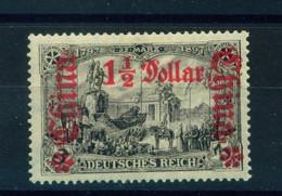 GERMAN PO's IN CHINA  -  1905-19 Deutsches Reich Definitive 11/2 Dollar On 3m Hinged Mint - Bureau: Chine