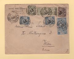 Monaco - Monte Carlo - Destination Autriche - 10 Fevr 1900 - Lettres & Documents