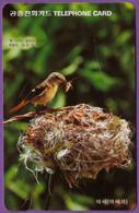 Telecarte °_ Corée-Séoul-oiseau.La Becquée- R/V 5162 - Korea, South