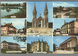 CPM 35 - Bain De Bretagne - L'Etang - Hôtel Des Quatre Vents - Maison Saint Thomas De Villeneuve - La Mairie - Non Classés