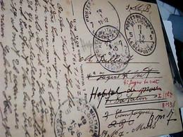 Franchise Militaire POSTES MILITAIRES BELGIQUE 2 TIMBRE 5  E 7  1924 CARD KOLN AM RHEIN  DOM IC7941 - Army: Belgium