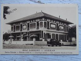 CPA ALGERIE - Hôtel LAMBERT - ADEKAR - Station Estivale - Autres Villes