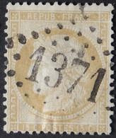 59 (cote 8€) Obl GC 1371 Eauze (31 Gers ) Ind 4 ; Frappe Très Nette Et TB Centrée - 1849-1876: Classic Period