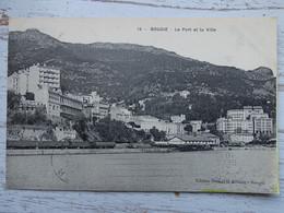 CPA ALGERIE - BOUGIE - Le Port Et La Ville - Autres Villes