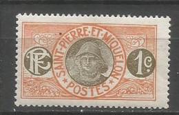 Timbre Colonie Française St Pierre Et Miquelon  Neuf * N 78 - Unused Stamps