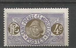 Timbre Colonie Française St Pierre Et Miquelon  Neuf * N 80 - Unused Stamps