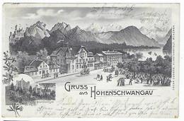 DEUTSCHLAND - GUTER PREIS - SEHR SELTEN - HOHENACHWANGAU - GRUSS Aus HOHENACHWANGAU - 1904 - Autres