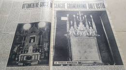 OGGI 1964 ORVIETO BOVES CUNEO POZZUOLI - Unclassified