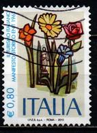 ITALIA - 2015 - IL TURISMO ITALIANO: MANIFESTO STORICO ENIT 1963- USATO - 2011-...: Used