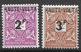 Haute Volta Mh Nc * 1927 Taxe  8,40 Euros - Postage Due