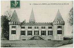 24 - B6388CPA - CHAMPAGNAC DE BELAIR - Château De La Borie - Parfait état - DORDOGNE - Non Classés