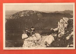 ZOM-12 RARE JURA Vaudois Rances Au Sommet Du Suchet, Armailli Avec Ses Chèvres Tampon Du Chalet, Non Circ.  Deriaz 4991 - VD Vaud