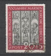 Bund , Nr 140 Mit Kleinem Eckstempel - Used Stamps