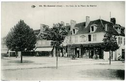 18 - B7883CPA - SAINT AMAND MONTROND - Un Coin De La Place Du Marché - Très Bon état - CHER - Saint-Amand-Montrond