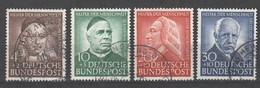 Bund , Nr 173-76 Gestempelt - Used Stamps