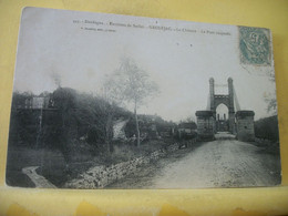 24 1382 CPA 1906 - 24 ENVIRONS DE SARLAT. GROLEJAC. LE CHATEAU. LE PONT SUSPENDU - EDITEUR P. BAUDRIX N° 445 - Otros Municipios