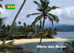 Sao Tome And Principe Islands Rolas Islet New Postcard - São Tomé Und Príncipe