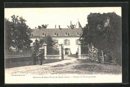 CPA Chassingrimont, Chateau, Château - Unclassified