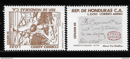 Honduras 1988 MNH Issue ExfilHon 88 - Costa Rica