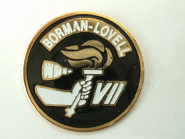 Pin's MISSION GEMINI VII - BORMAN / LOVELL - Spazio