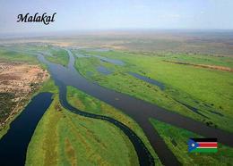South Sudan Malakal Landscape Aerial View Postcard Südsudan AK - Sudan