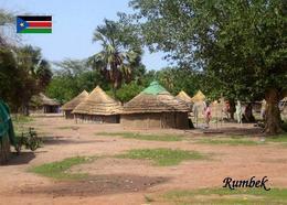 South Sudan Rumbek Huts New Postcard Südsudan AK - Sudan