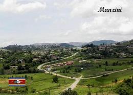 Swaziland Eswatini Manzini Overview New Postcard Swasiland AK - Swaziland