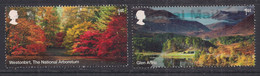 GB 2019 QE2 1st X 2 Forestry Commission 100 Yrs Used SG 4247-48  ( 179 ) - Oblitérés