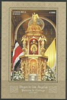 STAMPS-COSTA RICA. 2007. La Negrita Virgin Basillica Miniature Sheet. SG: MS1841. MNH Scarce - Costa Rica