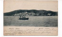 GRECE - MILOS - Adamas - Animée - 1917  (Y167) - Grecia