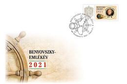 Hungary.2021.Maurice Benyovszky - Military Officer,traveler, Adventurer.FDC - Sonstige
