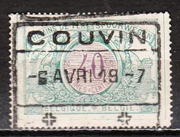 TR34  Chiffres Colorés - Oblit. COUVIN - LOOK!!!! - 1895-1913