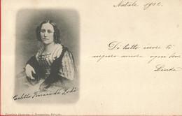 CARLOTTA FERRARI DA LODI VIAGGIATA 1902   (336) - Scrittori