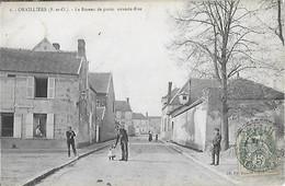 78 - Seine Et Oise - Yvelines - ORVILLIERS - Le Bureau De Poste - Grande Rue - Postes Et Télégraphes - - Autres Communes